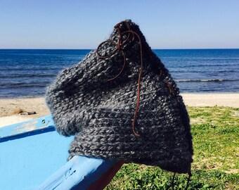 Scarf - New Infinity Scarf - Hand Knit Scarf - Infinity Shaul