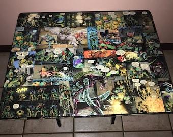 Teenage Mutant Ninja turtles TV tray table