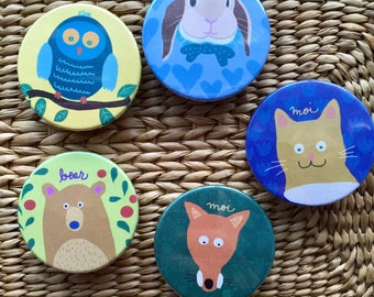 Forest badges