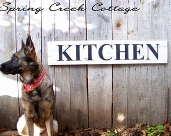 Rustic Signs, Moder Rustic Signs, Kitchen Signs, Signs, Home Decor, Kitchen, Rustic, Wood Signs, Handpainted, Country Kitchen, Farmhouse