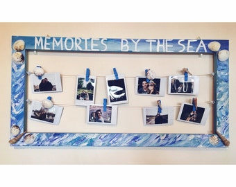 Meomories By The Sea - Photo frame