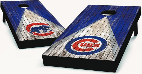 Chicago Cubs Cornhole Boards
