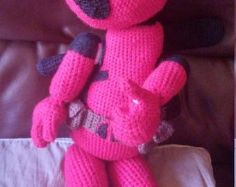 Crochet Deadpool Pattern (With Detachable Limbs)