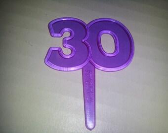 30 cupcake picks,cupcake picks, cupcake toppers, cake decorations, cake supplies