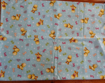 Adorable Handmade Baby Crib Sheet