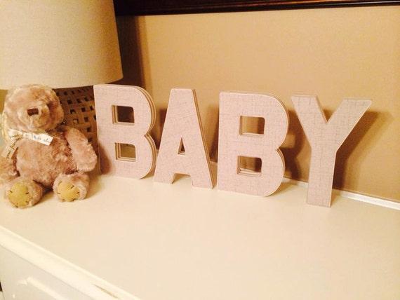 Baby 3D Buchstaben Stoff Buchstaben Buchstaben Kinderzimmer