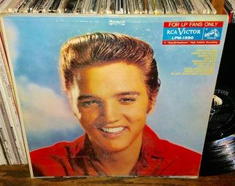 Elvis presley For LP Fans Only Vintage Vinyl Record RARE