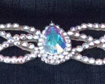 Pear Drop Swarvoski Crystal Bracelet