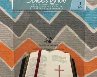 DESTASH Scrapbooking Bible Embellishment