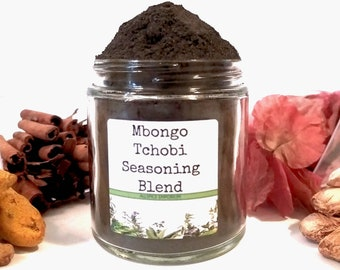 Mbongo Tchobi/Black Stew/Seasoning Blends/Food Gift/Spice Rack/Gifts For Foodies/Foodie Gift/Seasonings Gifts/Chef Gift/African/SALT FREE