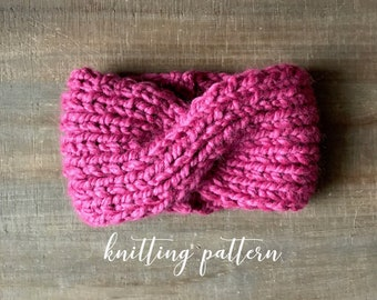 THE AMELIA HEADBAND || Knitting Pattern