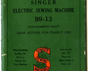 Singer Sewing Machine Manual Instructions model