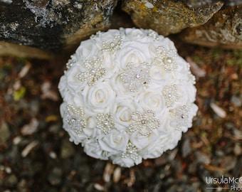Petite Pearl Bridal Bouquet