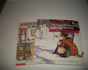 Vintage Calvin and Hobbes book (2) by Bill Watterson,