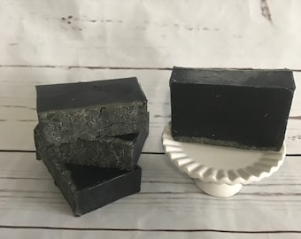 Dead Sea Mud and Activated Bamboo Charcoal Soap