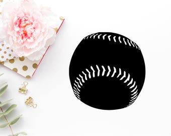 Baseball Svg - Baseball Png - Baseball Dxf - Baseball Cut File