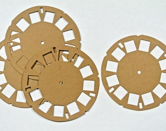 Tim Holtz Picture Wheel Card Stock Set of 4