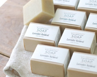 12 BARS + 1 FREE = 13 Bars of Soap - Mix + Match Scents - Ellie's Handmade Soap - 100% Natural + Cold Process Olive Oil Soap