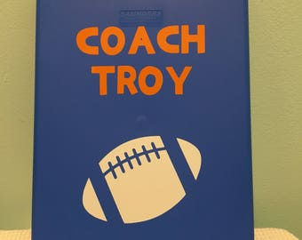 Personalized coach's clipboard