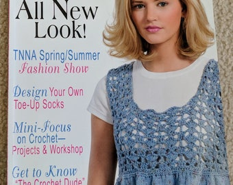 Knit 'n Style Magazine June Issue - 24 Spring and Summer Styles - Real Fashion for Real Knitters - All New Looks