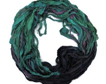New! Sari Silk Ribbon, 100g ,  50 yards