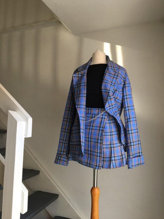 Clueless Cher X Dionne Inspired Tartan Blazer | Jacket by Etsy