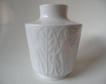 Edelstein german white porcelain vase,Edelstein porcelain,vase,white vase,white porcelain,german white vase