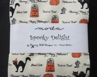 Moda - Spooky Delights Charm Pack - Only 5 Remaining and Unable to Get More!