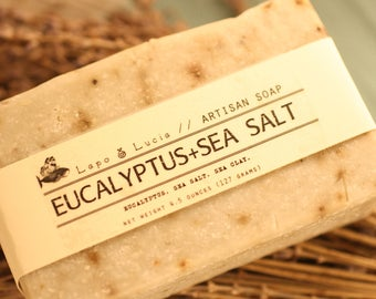 Eucalyptus+Sea Salt | Artisan Soap | Handmade Soap