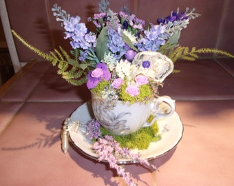 Tea Cup of DILLY DILLY Lavender Blue
