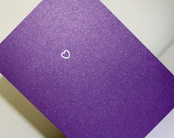 Cadburys Purple Order of Service