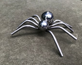 Small Metal Spider Sculpture