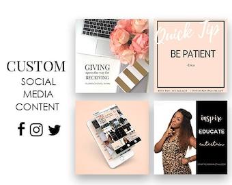 Custom Social Media Branding Content