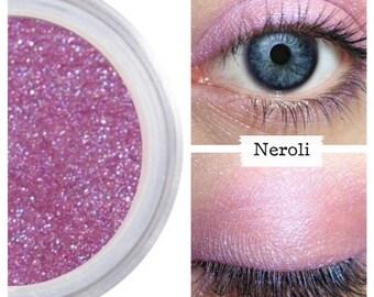 Iridescent Purple, Purple Eyeshadow, NEROLI, Mineral Eye Color, Pink Purple Bright, Shadow, Iridescent Purple Pink Eye, Cruelty Free Beauty