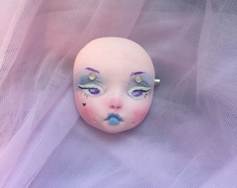 Cotton Candy Babyface Brooch