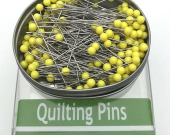 "Nifty Notions Quilting Pins 1-3/4"" long .60mm thick, 250 Count"