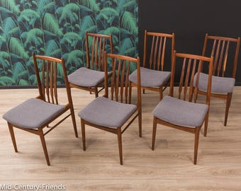 60s dining chair, chair, 50s, vintage (711010)