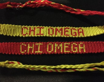 Chi Omega Bracelet