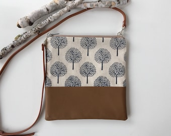 Vegan Crossbody Purse // Crossbody Bag // Vegan // Handmade Bag // Shoulder Bag // Purse