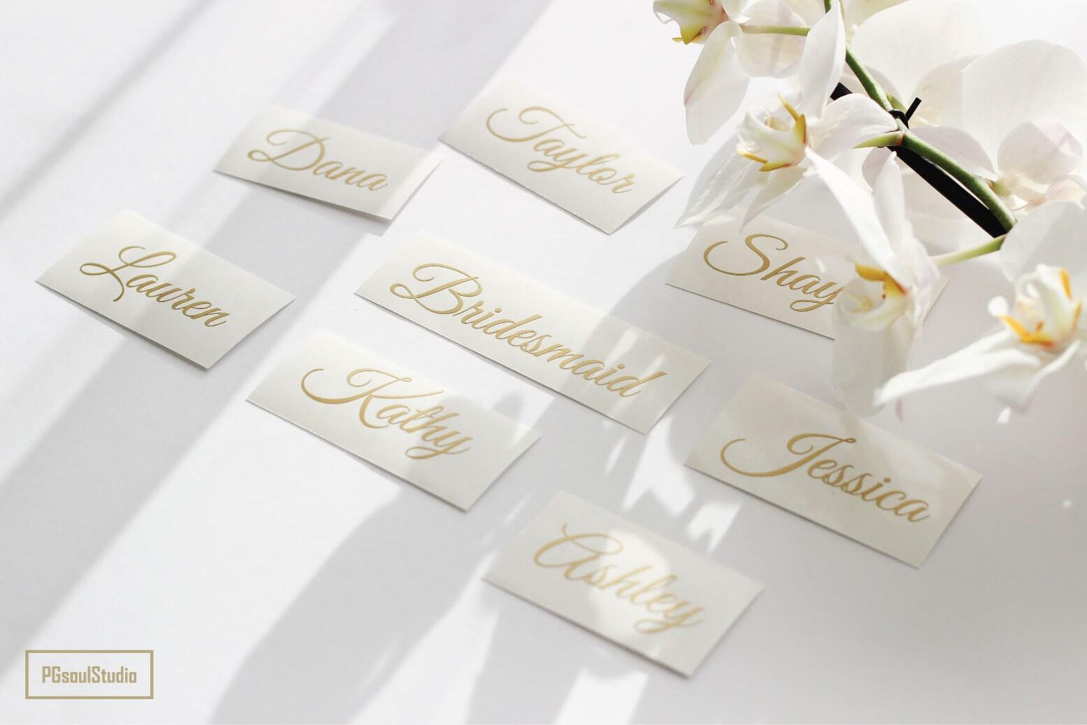 Custom Name Stickers, Wedding Party Sticker, Wedding Invitation Seal ...