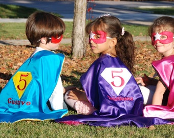 Birthday Super hero cape/ Birthday cape /Custom Cape/Super Hero/Birthday bash cape-