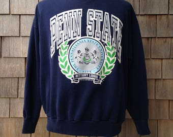 80s vintage Penn State University Nittany Lions sweatshirt - Large - TNT