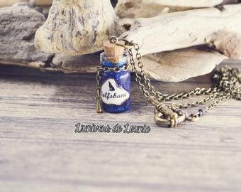 Wolfsbane vial Potion necklace