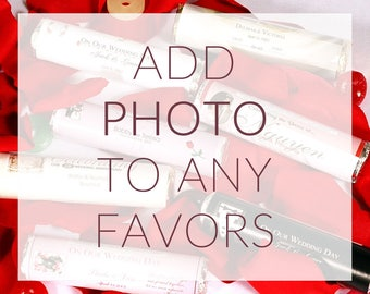 Add Photo To Any Favors