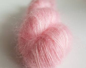 Skein Kid Mohair and silk - Lace - color Kirby