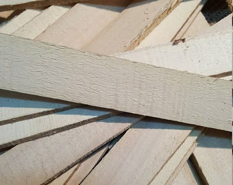 Lath, 30 pieces 16 inches long, Cottonwood
