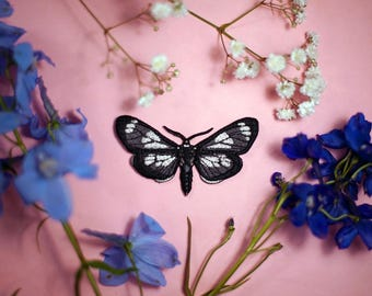 Gnophaela Vermiculata | Butterfly Tie | No. 5 | Moth | Bow Tie | Brooch *NEW*