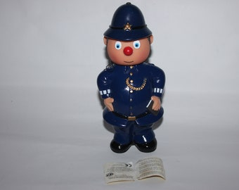Mr Plod, Enid Blyton's toytown, Noddy Big Ears, Bubble Bath, 1994 Darrell Waters, unused still full, policeman