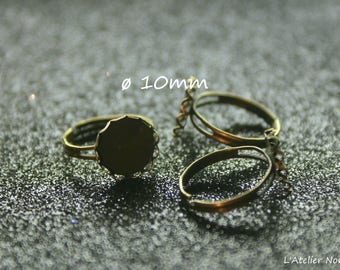 Round Ring holder ring ø10mm * adjustable *.