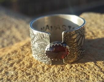 Namaste Paisley Ring